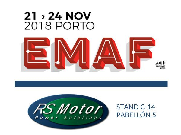 WE ARE LOOKING FORWARD TO YOUR VISIT, ON THE NEXT EXHIBITION EMAF 2018 IN EXPONOR - PORTO FROM DEL 21st – 24th NOVEMBER