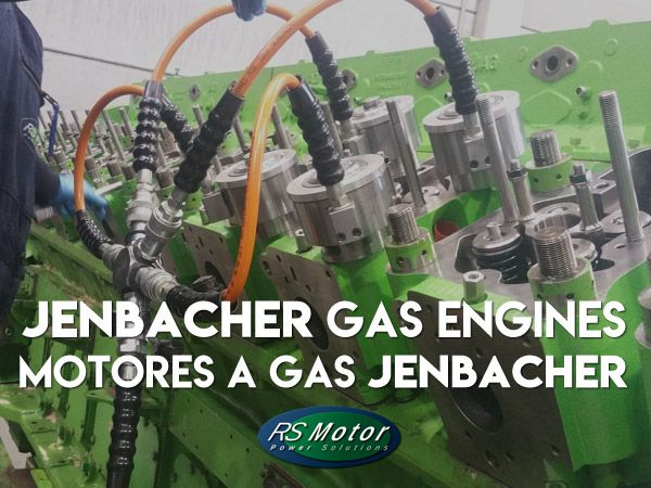 Specialist on Jenbacher gas engines: maintenance, reconditioning and spare parts sale