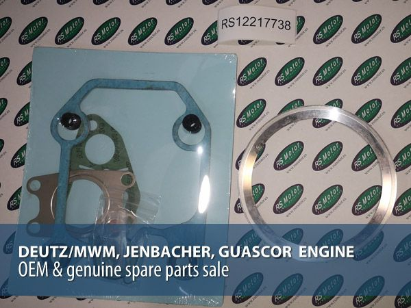 Wide stock of OEM & genuine parts for gas and diesel engines