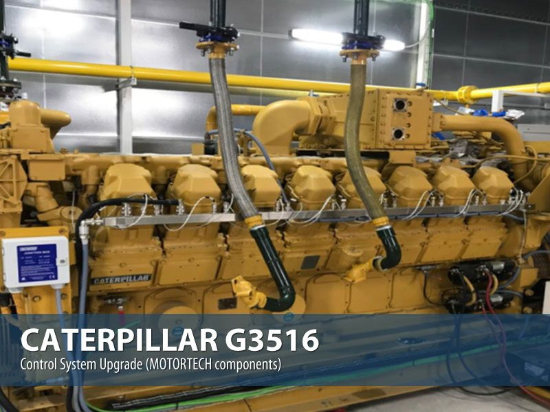 caterpillar-g3516-ovehaul-uprade-gas-engine