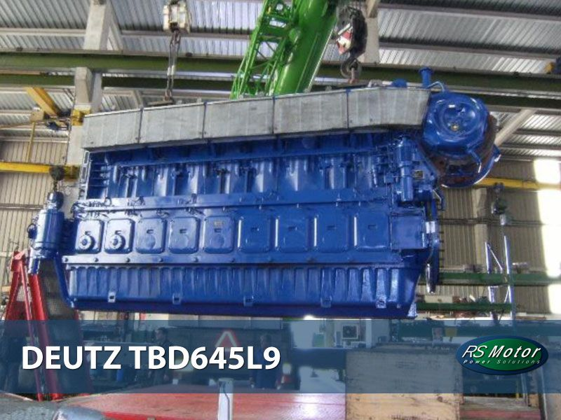 DEUTZ TBD645-L9 engine for sale