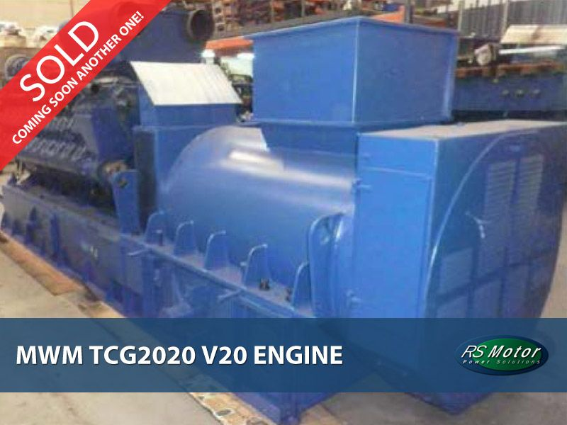 Deutz TCG 2020 V20 engine for sale  [SOLD]