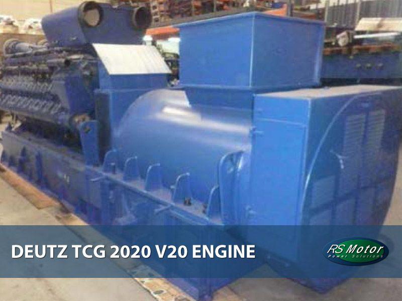 Deutz TCG 2020 V20 engine on sale