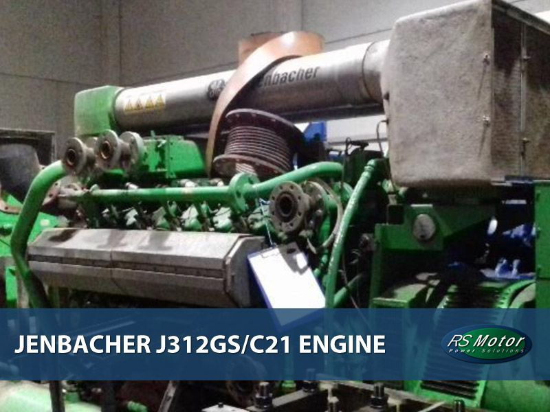 Jenbacher J312 engine for sale