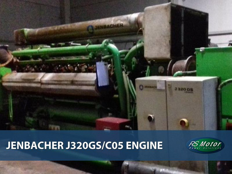 Jenbacher J320 genset engine for sale