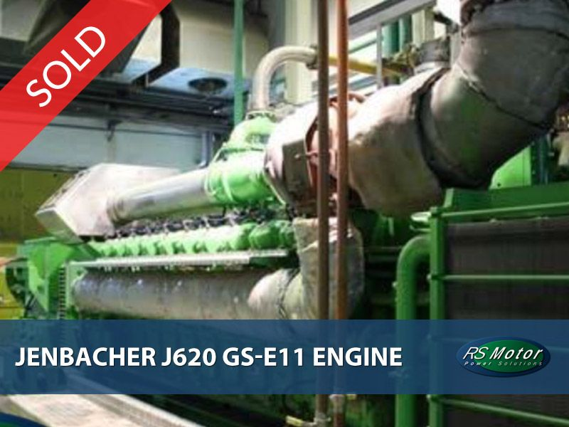 Jenbacher J620 GS-E11 engine for sale [SOLD]