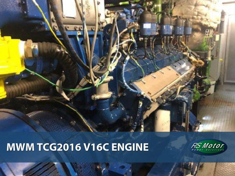MWM TCG2016 V16C engine on sale