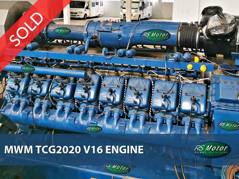 MWM TCG2020 V16 engine for sale