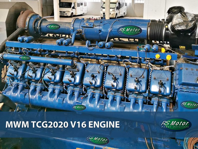 MWM TCG2020 V16 engine on sale