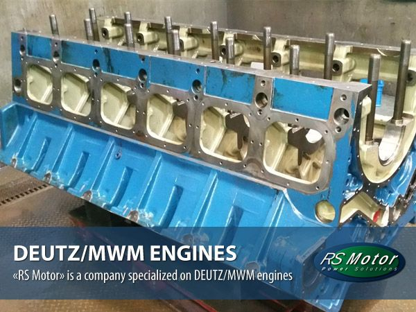 DEUTZ/MWM gas and diesel engines, the main business