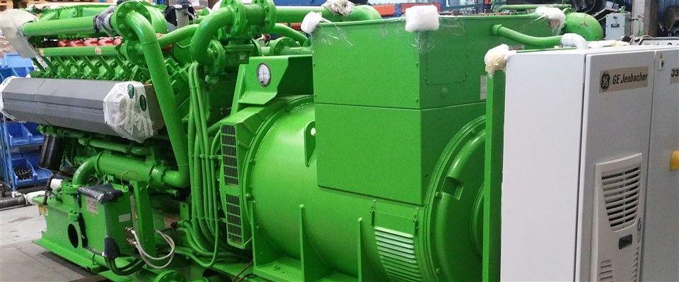 specialist in Jenbacher gas engines especialistas en motores de gas Jenbacher