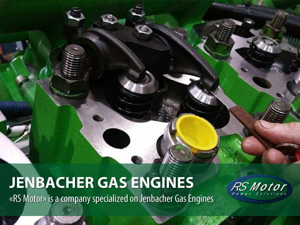 Jenbacher gas engines, since 2011