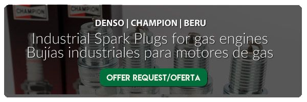offer-request-suministro-bujias-motores-de-gas-industrial-ipark-plugs-for-gas-engines