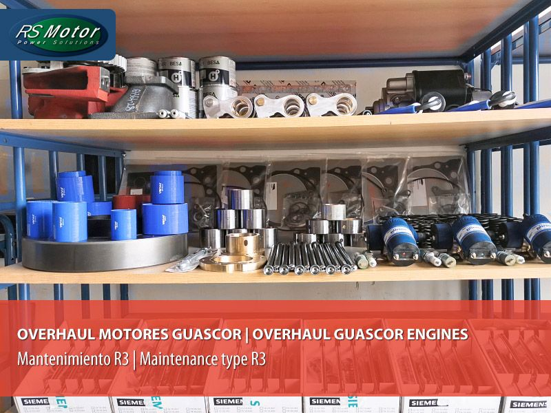 Mantenimiento-R3-Overhaul-sobre-un-motor-Guascor-de-gas-Maintenance-type-R3-Overhau)-on-a-Guascor-F