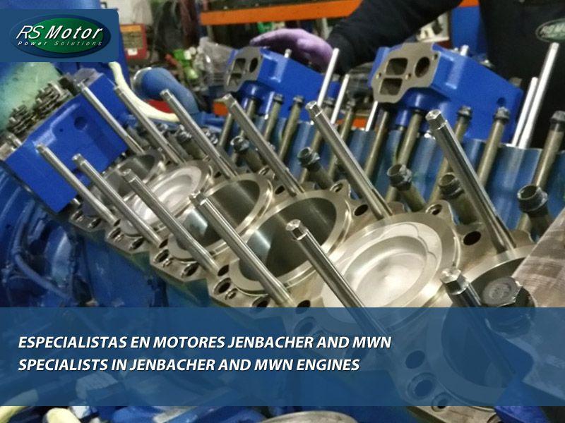 «RS Motor» especialistas en motores Jenbacher y MWN