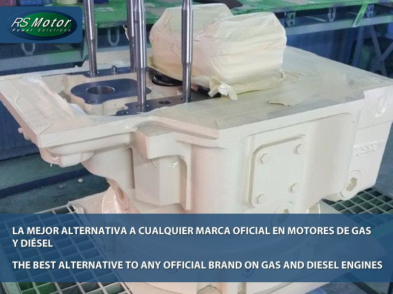 «RS Motor» la mejor alternativa a cualquier marca oficial en motores de gas y diésel