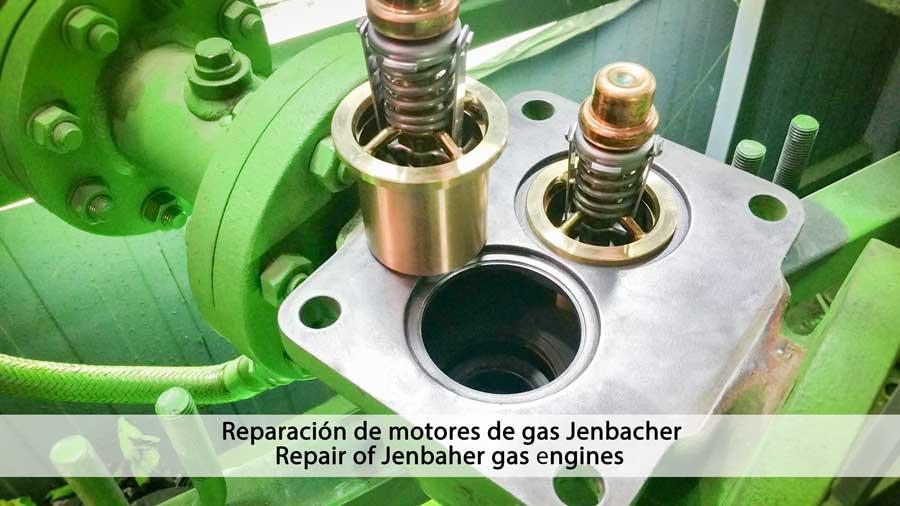 Reparación de motores Jenbacher