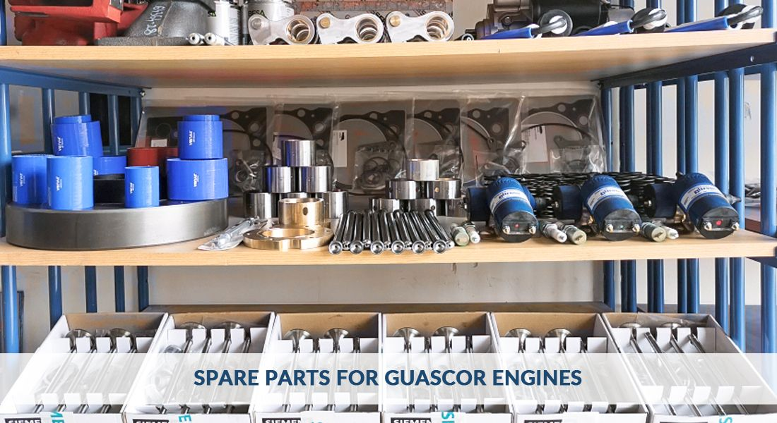Spare parts for Guascor engines