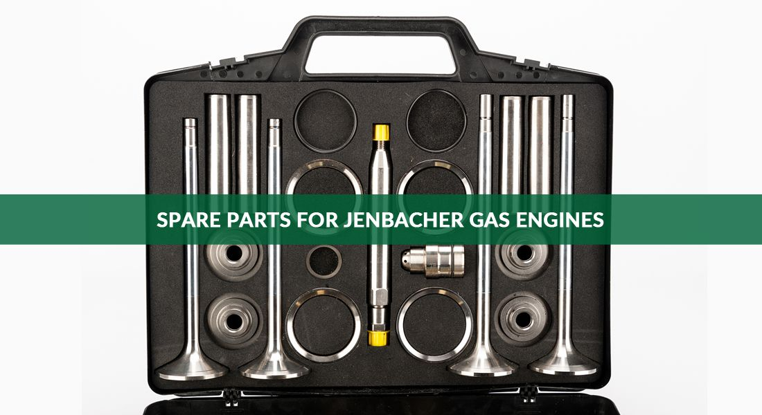 Spare parts for Jenbacher gas engines