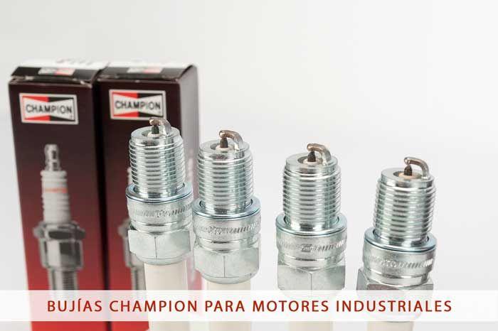 Bujías Champion para motores industriales