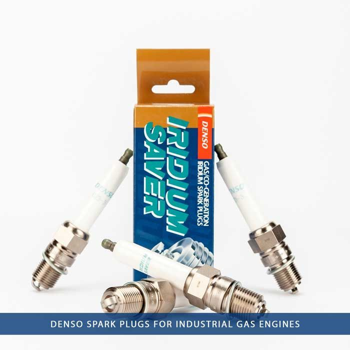 Denso spark plugs for industrial Gas Engines